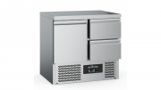 Külmtöölaud CS-EF 2 sahtli ja 1 uksega