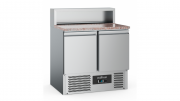 Pizzakülmtöölaud renniga CS-EF 2 uksega