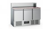 Pizzakülmtöölaud renniga CS-EF 3 uksega