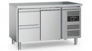 Külmtöölaud CS-EF 2 sahtli ja 1 uksega, jalgadel