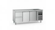 Külmtöölaud CS-EF 2 sahtli ja 2 uksega
