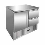 Külmtöölaud Maxima 1 ukse, 2 sahtliga